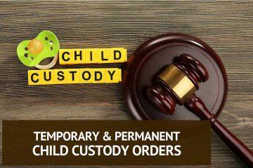 temporary custody in nc